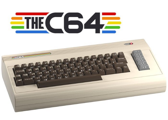THEC64 full-sized retro new Commodore 64 computer now available ...