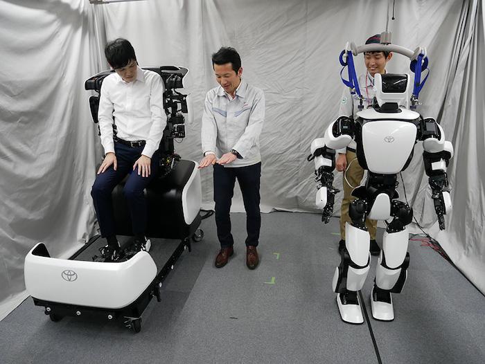 Toyota T-HR3 Humanoid Robot