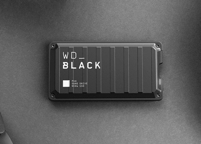 WD Black P50 USB SSDs