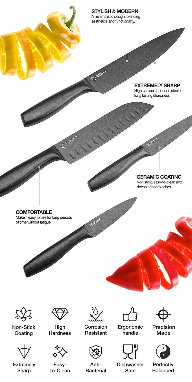 ZENKO Fusion chef knife set