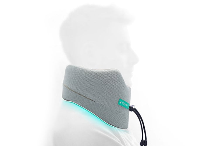 TripPal next generation travel pillow provides 360 degree support
