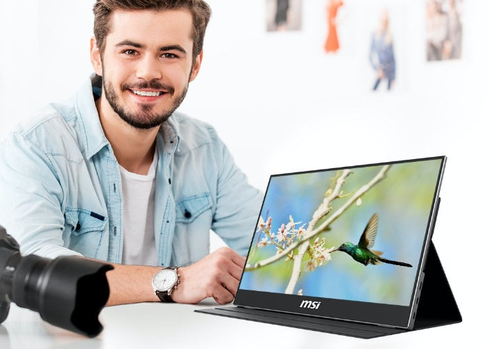 MSI Optix MAG161V portable monitor