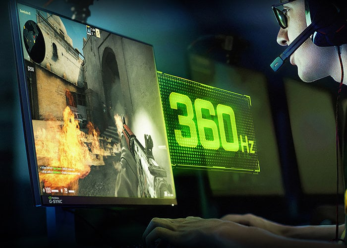 New NVIDIA G-Sync 360Hz Esports displays