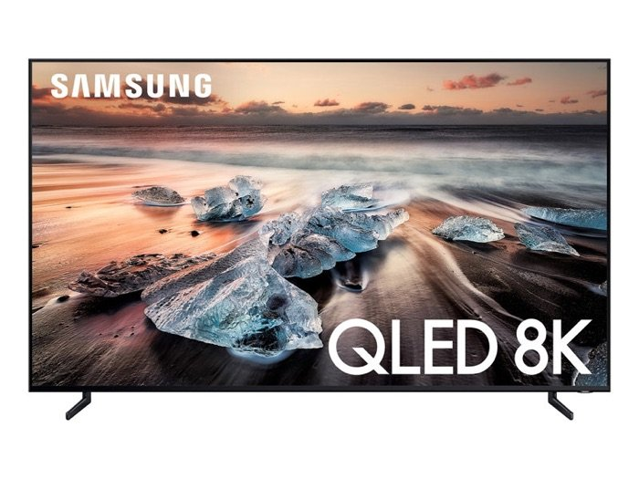 Samsung's new 8K QLED TV is nearly all picture