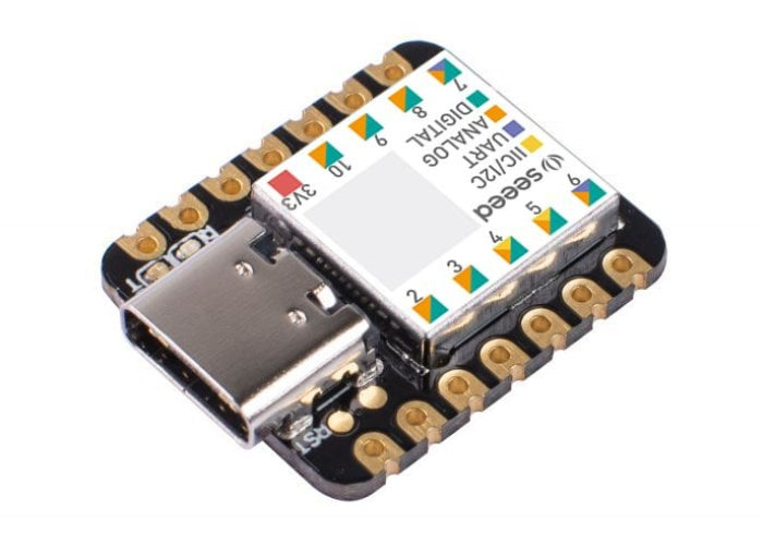 SEEED Seeeduino XIAO tiny Arduino compatible microcontroller receives CircuitPython support