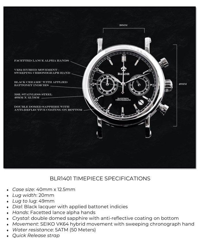 BALOR Watches