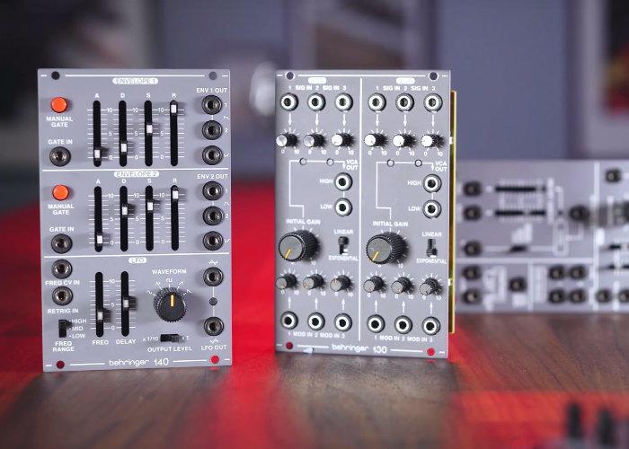 Behringer System 100 modular synthesiser