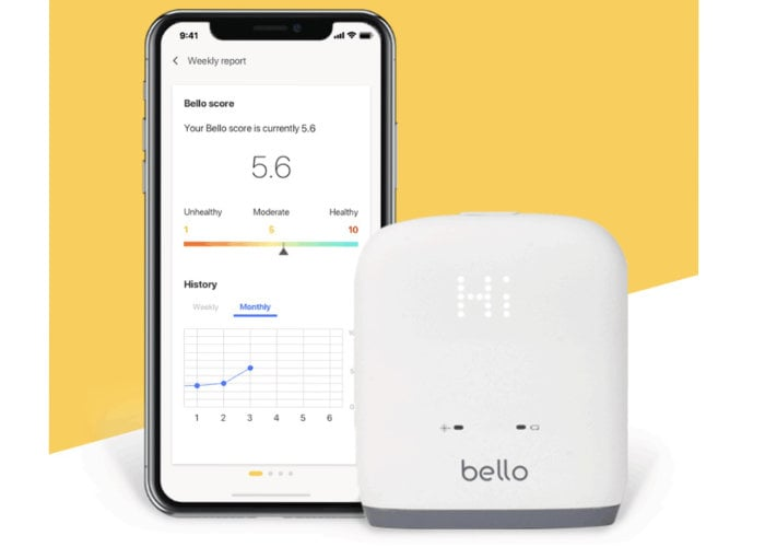Bello waistline scanner