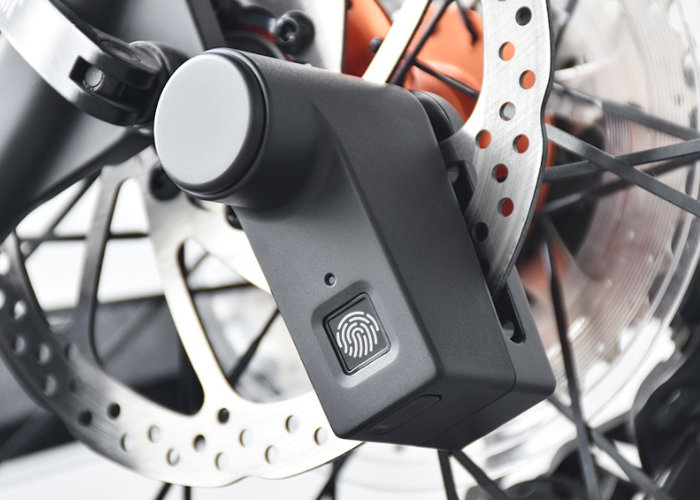Walsun bike lock with biometric entry weighs just 220g