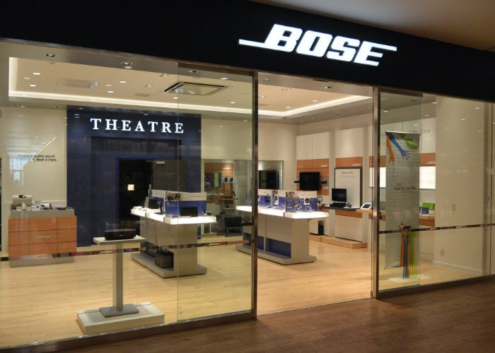 Bose Stores closing