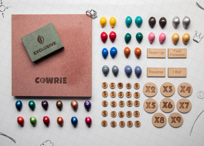 Cocky Cowrie smart money board game