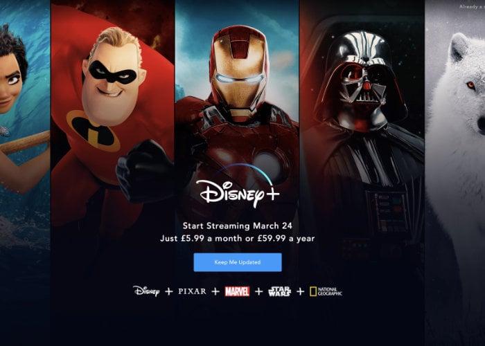 Disney Streaming UK