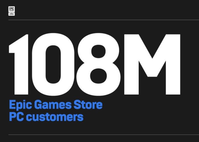 Epic Games Store passes 100 million customers