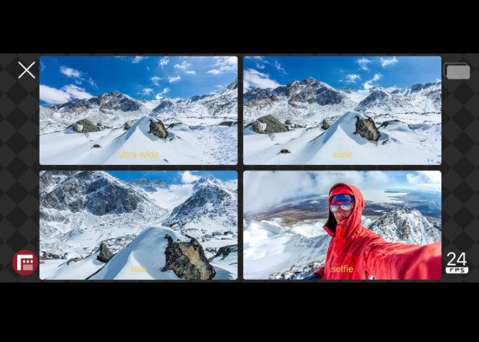Filmic DoubleTake camera app