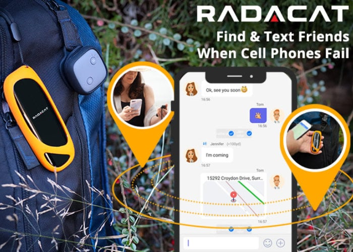 Radacat real time GPS tracker require no subscription or cell service