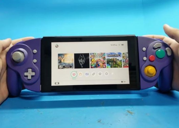 A modder turned the GameCube controller into Joy-Con for Nintendo Switch