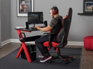 Height Adjustable Gaming Chair