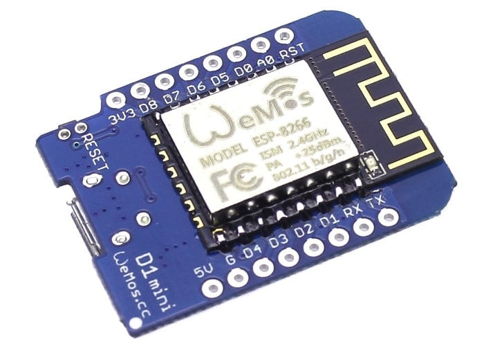 Home automation system using a $4 Wemos D1 Mini
