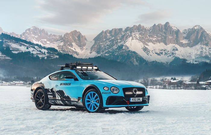 Bentley Continental GT ice racer