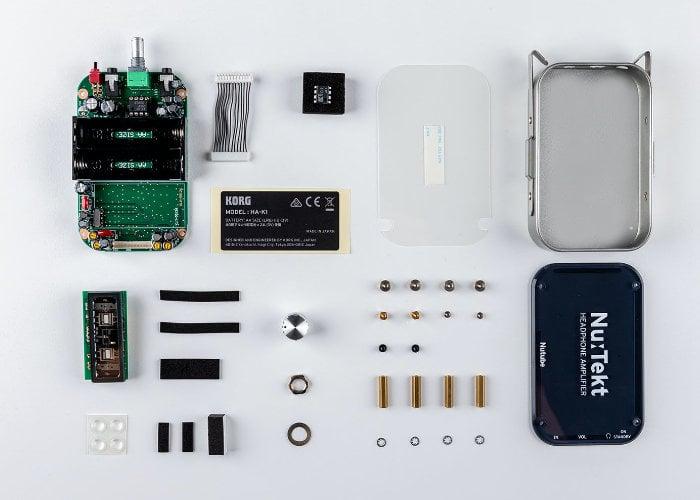 Korg's DIY headphone amp