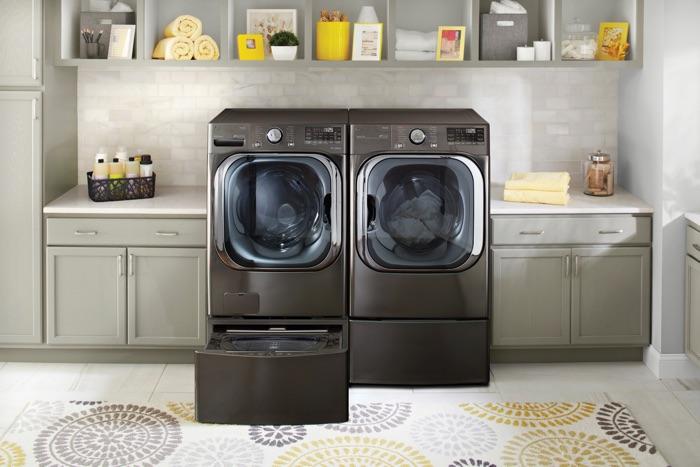 LG AI powered washing machine