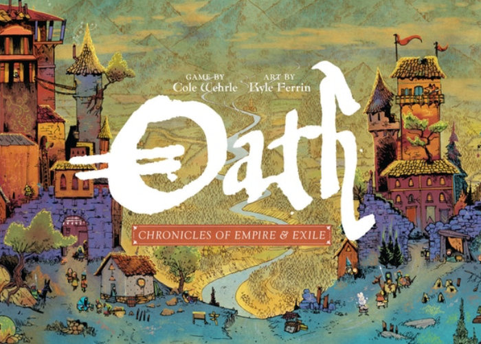 Oath : Chronicles of Empire and Exile board game