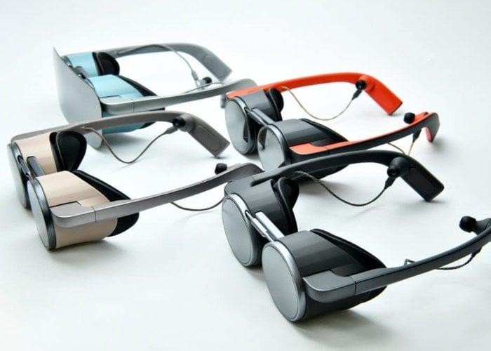 Panasonic VR goggles