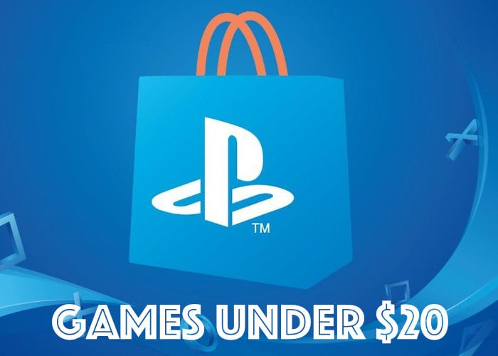 PlayStation Store games under $20 sale now on