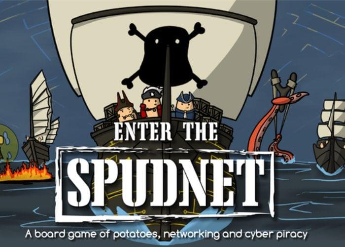 Potato Pirates 2 Enter The Spudnet cybercrime board game