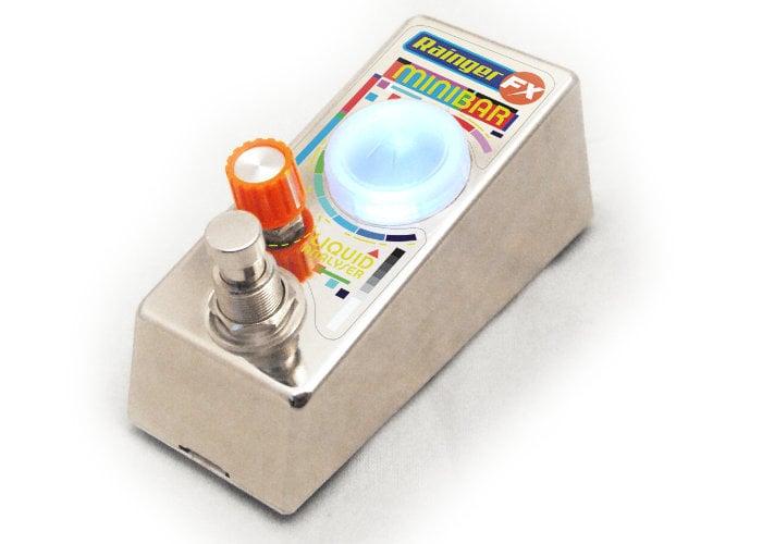 Rainger FX Minibar liquid analyser stompbox guitar pedal