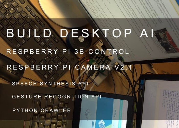 Raspberry Pi desktop AI assistant project