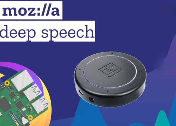 Raspberry Pi offline speech recognition system using Mozilla's Deepspeech Engine