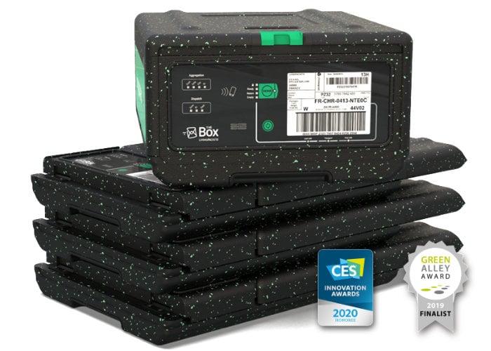 Reusable shipping box