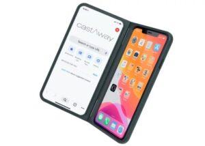 dual smartphone screen case