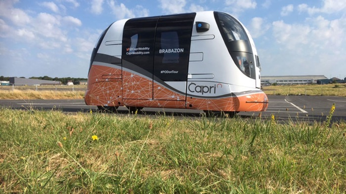 Trials of self driving transport pods start in the UK