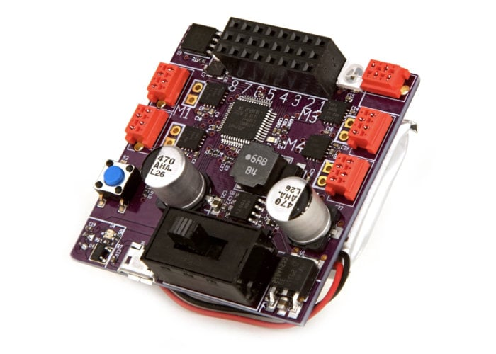 Snekboard microcontroller designed for LEGO projects