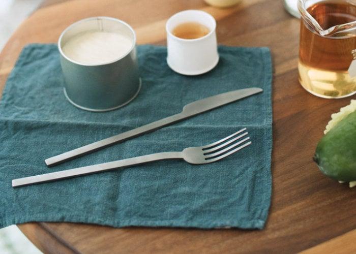 Titanium cutlery