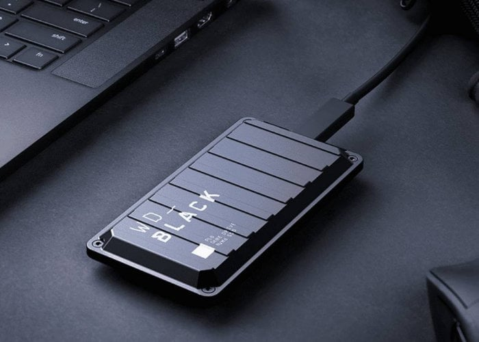 WD Black portable SSD