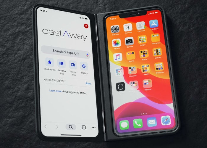 dual screen smartphone case