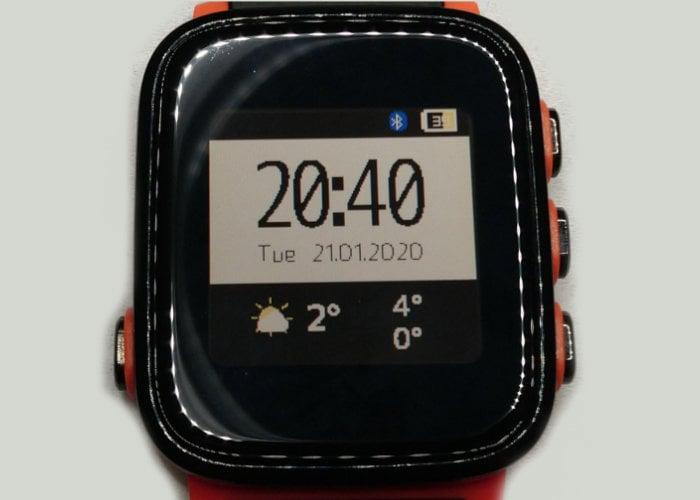 hackable smartwatch