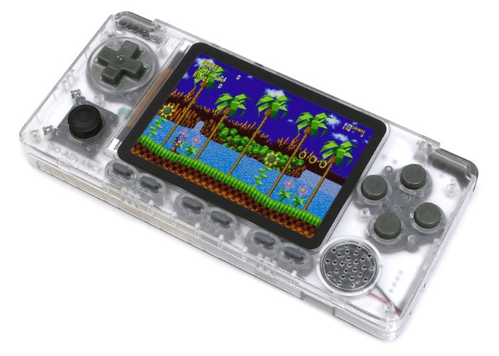 handheld games console