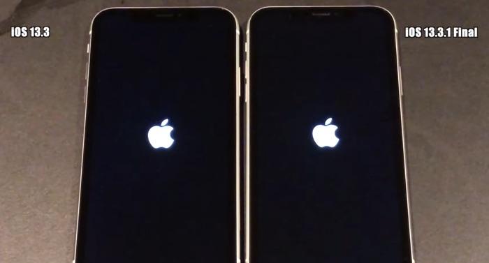 iOS 13.3 vs iOS 13.3.1