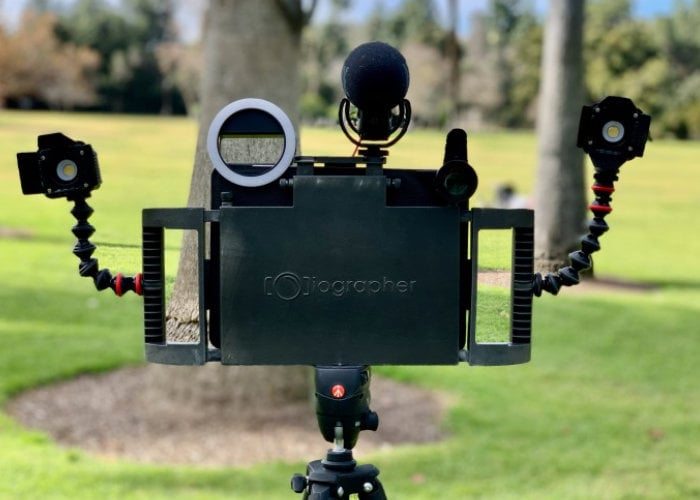 iOgrapher tablet photography and video rig
