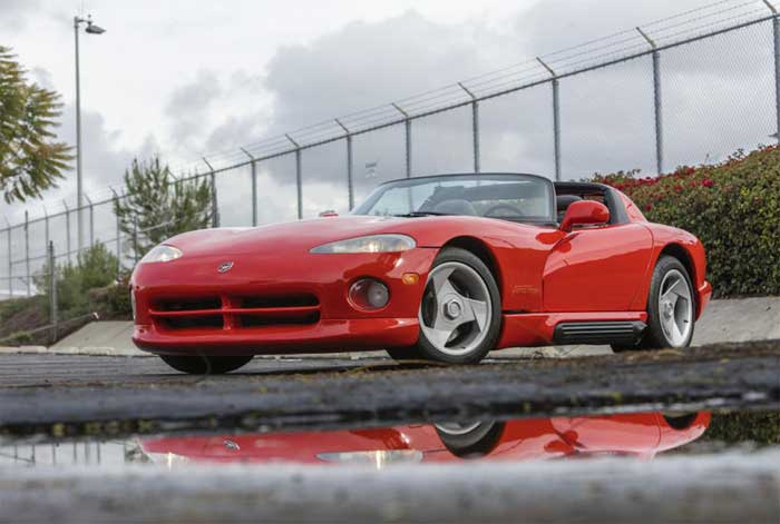 Own Lee Iacocca's 1992 Dodge Viper