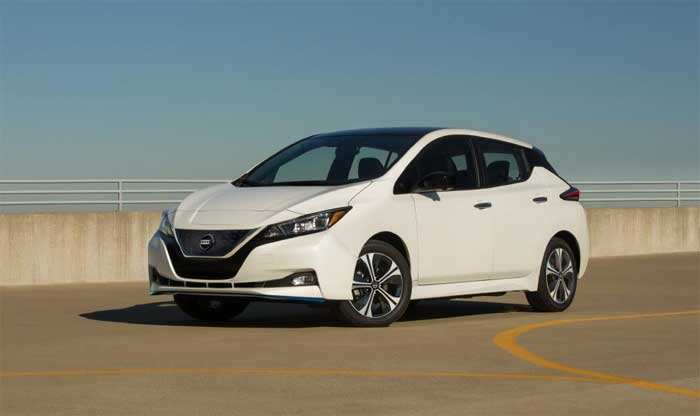 2020 Nissan Leaf pricing announced for the US
