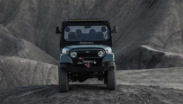 2020 Mahindra Roxor gets a new grille