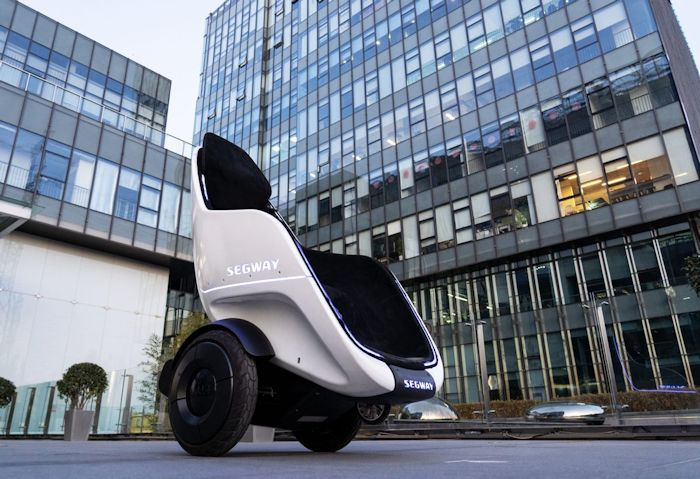 Segway's S-Pod Is like a lounge chair
