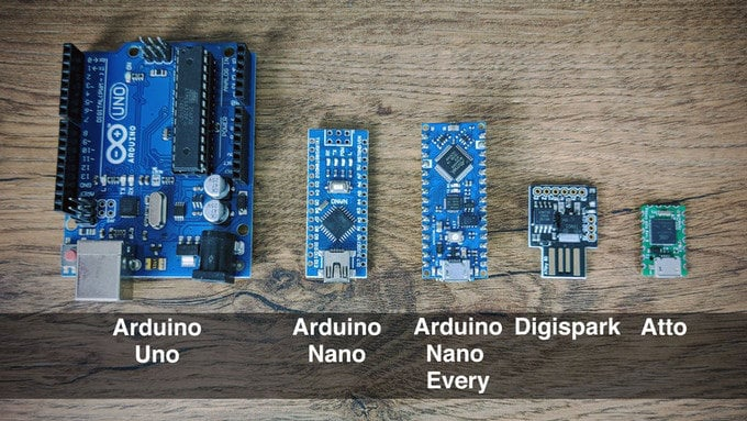 small Arduino development board
