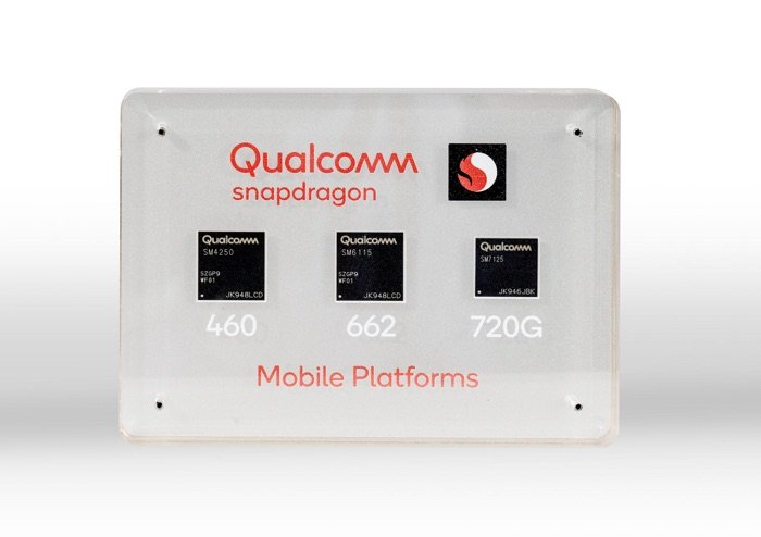 Qualcomm Snapdragon 720G, 662 and 460 get official