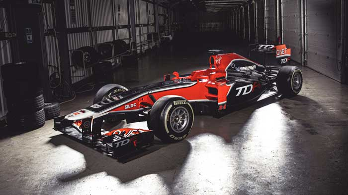 TDF-1 is an F1 car that you can own